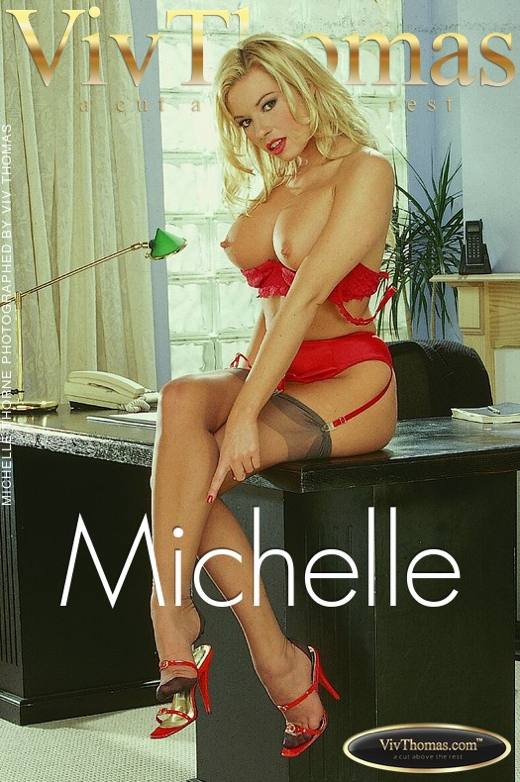 Michelle Thorne - `Michelle` - by Viv Thomas for VT ARCHIVES
