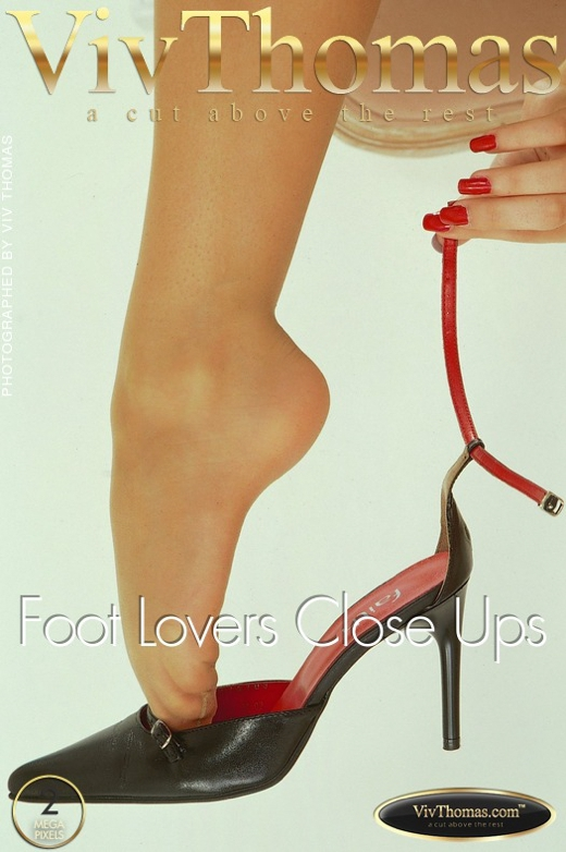 Silvia Saint - `Foot Lovers Close Ups` - by Viv Thomas for VT ARCHIVES