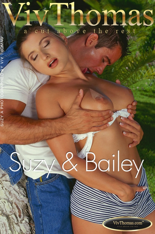 Suzy A - `Suzy & Bailey` - by Viv Thomas for VT ARCHIVES