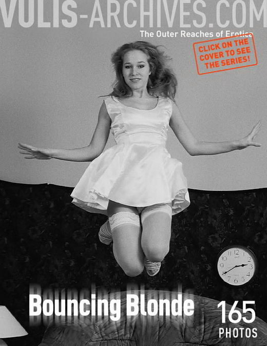 `Bouncing Blonde` - by Ralf Vulis for VULIS-ARCHIVES