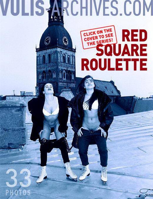`Red Square Roulette` - by Ralf Vulis for VULIS-ARCHIVES