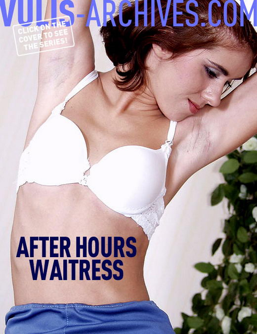 `After Hours Waitress` - by Ralf Vulis for VULIS-ARCHIVES