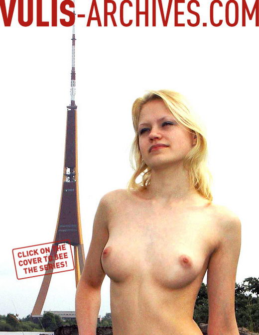 `Latvia's Eiffel Tower` - by Ralf Vulis for VULIS-ARCHIVES