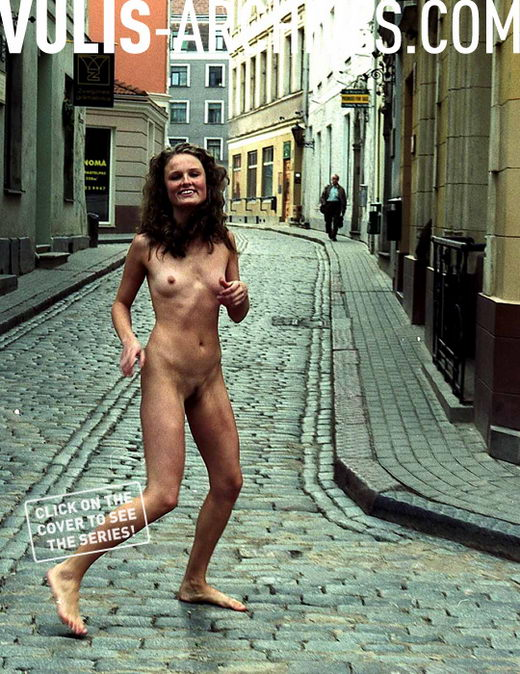 `Cobblestone Streaker` - by Ralf Vulis for VULIS-ARCHIVES