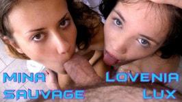 Mina Sauvage  from WAKEUPNFUCK