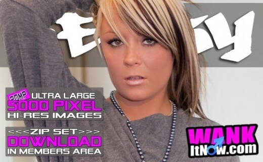 Becky - `Grey Top` - for WANKITNOW