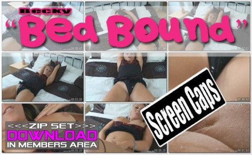 Becky - `Bed Bound` - for WANKITNOW