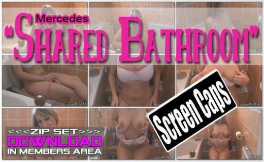 Mercedes - `Shared Bathroom` - for WANKITNOW