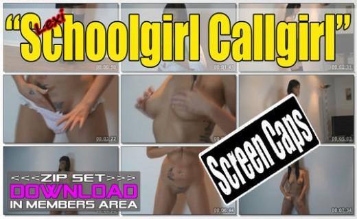 Lexi - `Schoolgirl Callgirl` - for WANKITNOW