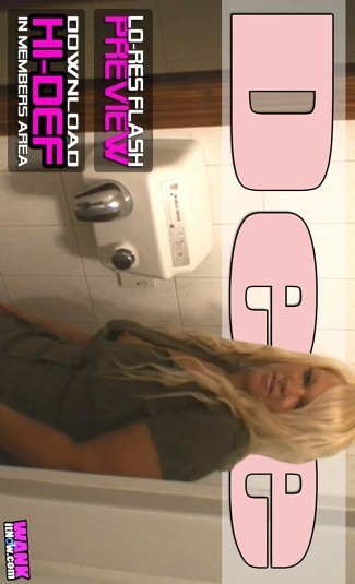 Dee - `Toilet Attendant` - for WANKITNOW