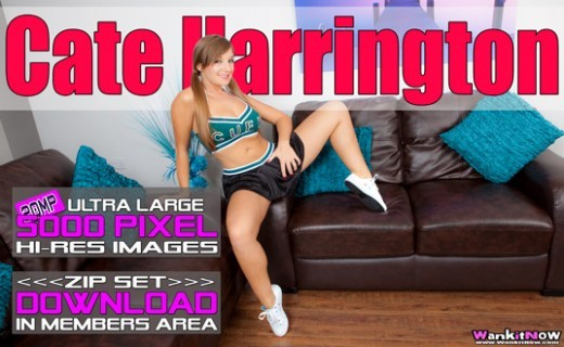 Cate Harrington - `Cheerleader Extreme` - for WANKITNOW