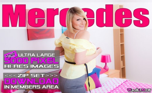 Mercedes - `Naked In The Bedroom` - for WANKITNOW