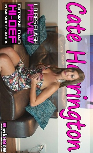 Cate Harrington - `3 Minute Wank Challenge` - for WANKITNOW