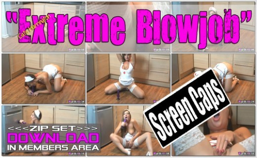 Cate Harrington - `Extreme Blowjob` - for WANKITNOW