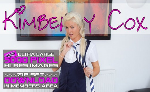 Kimberly Cox - `WIN Schoolgirl Uniform` - for WANKITNOW