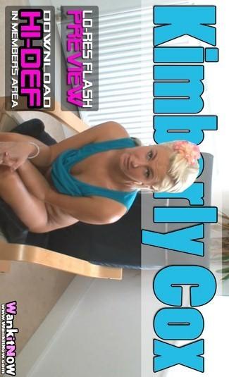 Kimberly Cox - `3 Minute Wank Challenge` - for WANKITNOW