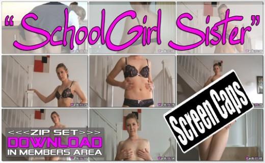 Nat H - `Schoolgirl Sister` - for WANKITNOW