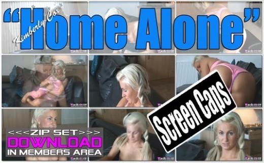 Kimberly Cox - `Home Alone` - for WANKITNOW