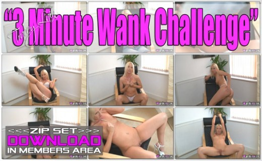 Tracey Lain - `3 Minute Wank Challenge` - for WANKITNOW