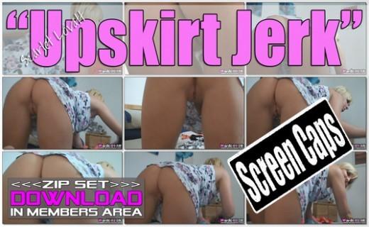 Scarlet Lovatt - `Upskirt Jerk` - for WANKITNOW