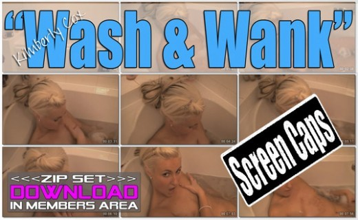 KImberly Cox - `Wash & Wank` - for WANKITNOW