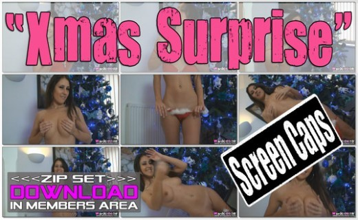 Jess West - `Xmas Surprise` - for WANKITNOW