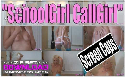 Tracey Lain - `Schoolgirl Callgirl` - for WANKITNOW