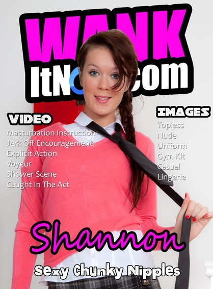 Shannon - for WANKITNOW