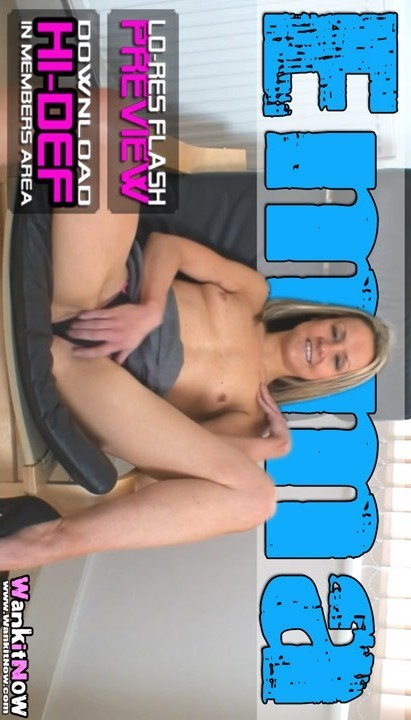 Emma - `The Best Phone Sex EVER` - for WANKITNOW