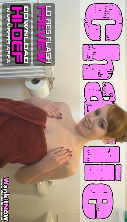Charlie - `Shower Voyeur` - for WANKITNOW