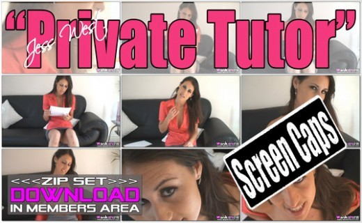 Jess West - `Private Tutor` - for WANKITNOW
