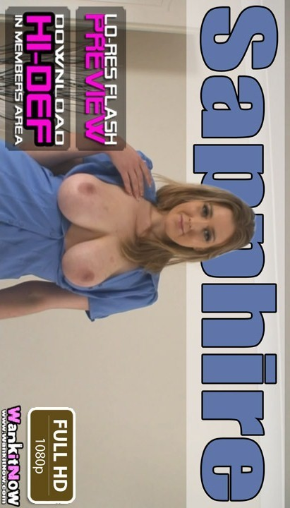 Sapphire - `Where Do You Want To CUM` - for WANKITNOW