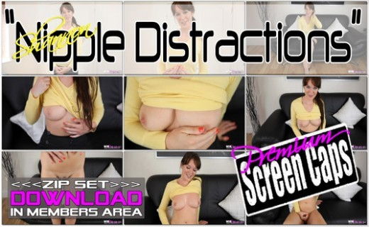 Shannon - `Nipple Distractions` - for WANKITNOW