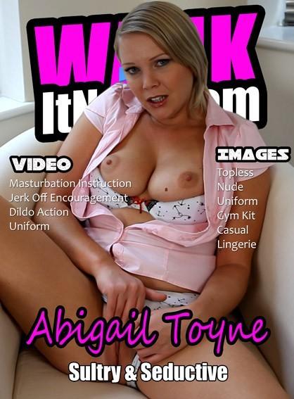 Abigail Toyne - for WANKITNOW