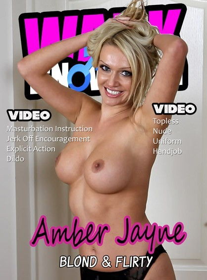 Amber Jayne - for WANKITNOW