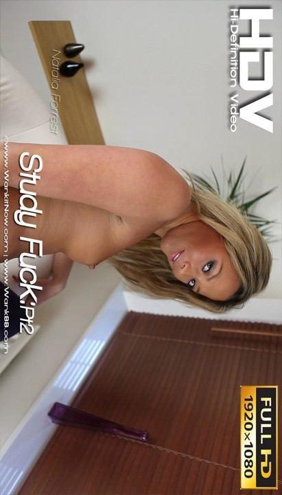 Natalia Forrest - `Study Fuck - Part 2` - for WANKITNOW
