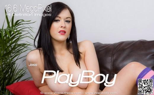Jess - `Playboy` - for WANKITNOW