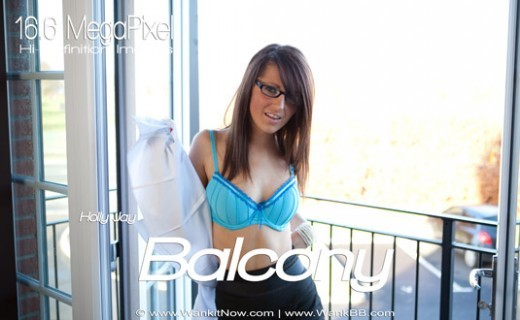 Holly Jay - `Balcony` - for WANKITNOW