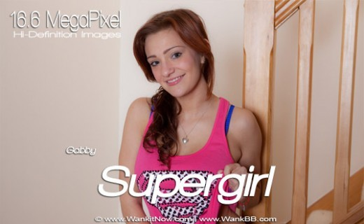 Gabby - `Supergirl` - for WANKITNOW