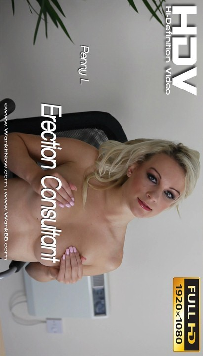 Penny L - `Erection Consultant` - for WANKITNOW