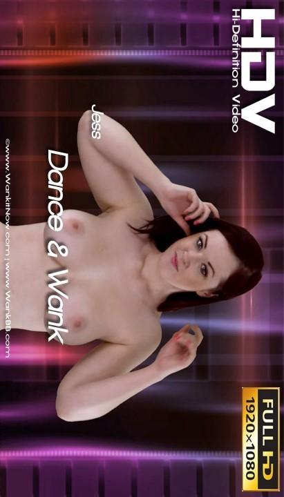 Jess - `Dance & Wank` - for WANKITNOW
