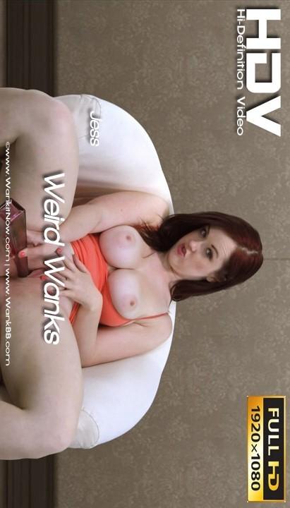 Jess - `Weird Wanks` - for WANKITNOW
