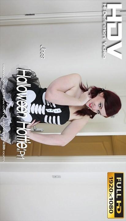 Jess - `Halloween Hottie - Part 1` - for WANKITNOW