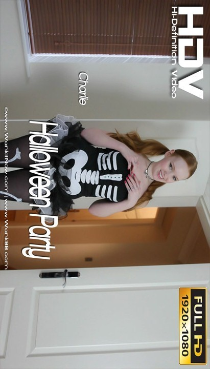 Charlie - `Halloween Party` - for WANKITNOW