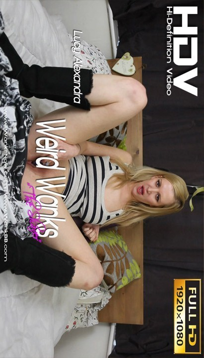 Lucy Alexandra - `Weird Wanks - The Shaver` - for WANKITNOW