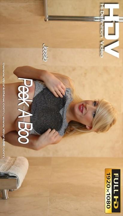 Jessie - `Peek-A-Boo` - for WANKITNOW