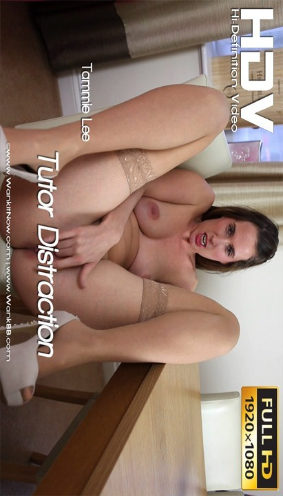 Tammie Lee - `Tutor Distraction` - for WANKITNOW