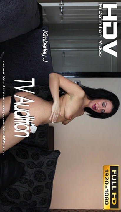 Kimberley J - `TV Audition` - for WANKITNOW
