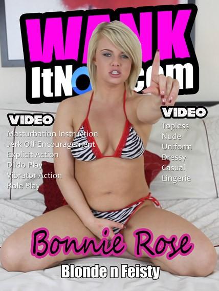 Bonnie Rose - for WANKITNOW