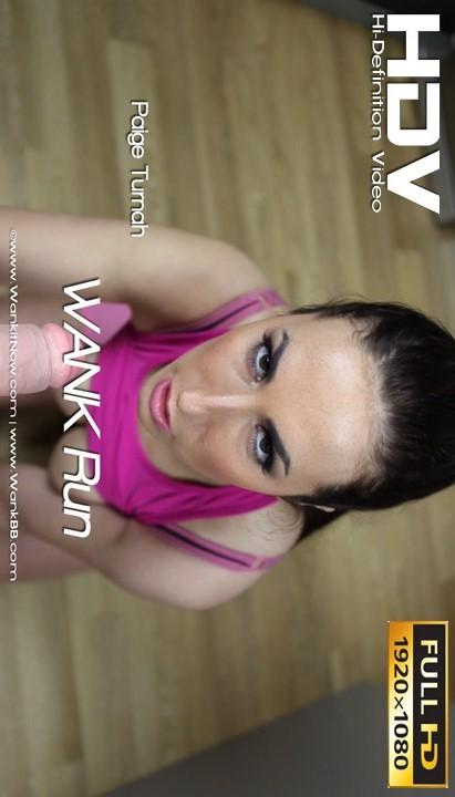 Paige Turnah - `WANK Run` - for WANKITNOW